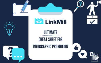 LinkMill's Ultimate Cheat Sheet for Infographic Promotion